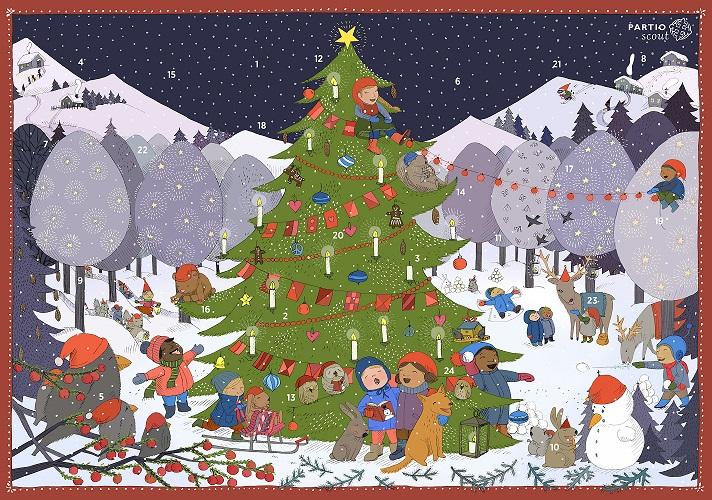 partiolaisten joulukalenteri 2018 hinta Partiolaisten adventtikalenterimyynti 2017 – Partiolippukunta  partiolaisten joulukalenteri 2018 hinta